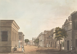 A View In The North Street Of Fort St. George.